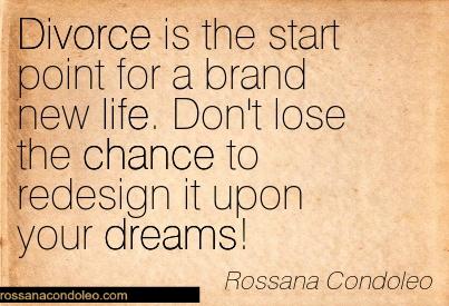 quotation rossana condoleo separation life inspirational