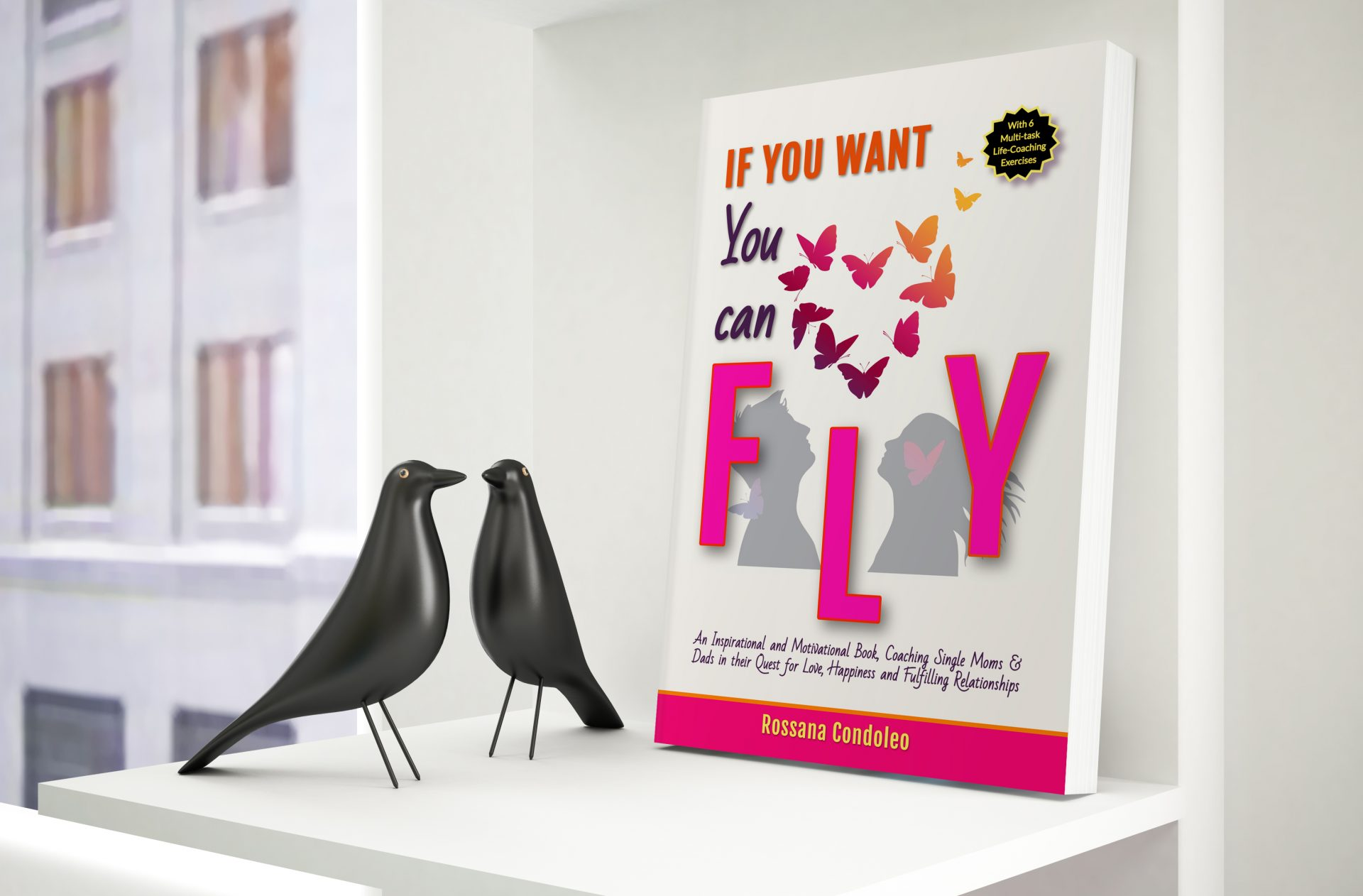 Single parents book If You Want You Can Fly by Rossana Condoleo